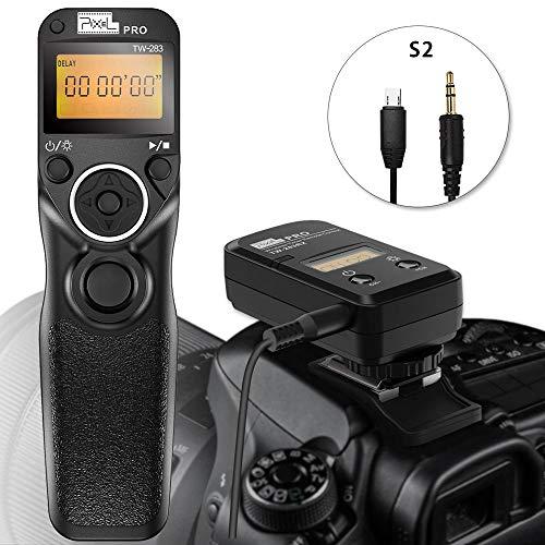 PIXEL TW-283 S2 Mandos a Distancia Disparador Inalámbrico de Control Remoto para Sony Digital Cámara