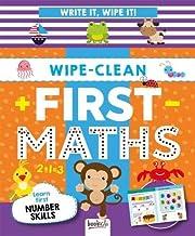 Wipe-Clean First Maths: Write It, Wipe It!
