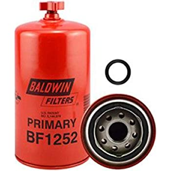 Baldwin BF1252 Heavy Duty Diesel Fuel Spin-On Filter