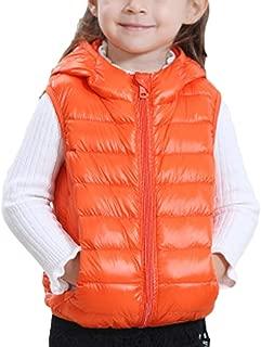 Guiran Unisex Kinder Steppweste Weste Mit Rei/ßverschluss Atmungsaktive Winddicht /Ärmellose Jacke