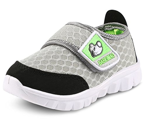 DADAWEN Baby's Boy's Girl's Mesh Light Weight Sneakers Running Shoe Gray US Size 6.5 M Toddler