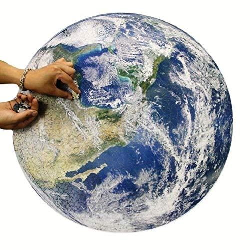 玩具 ジグソーパズル 地球 1000ピース 地球儀 アース earth パズル 青い 蒼 空 陸 地上 海 地球円形パズル 雑貨 知的チャレンジゲーム 教育 ゲーム 知育 子供 子ども 脳トレ 丸 円 バースデー ギフト 誕生日 祝い プレゼント 贈り物
