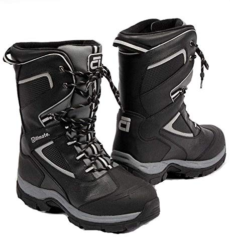 Altimate Men's Escape Snowmobile Snow Boot Sz (14) Black