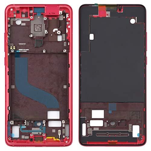 ZHANGQUAN Las Partes de Repuesto QUAN Pantalla de reparación de la Caja Repuestos Repuestos Carcasa Delantera Marco LCD Placa de Bisel para Xiaomi Redmi K20 / Redmi K20 Pro/MI 9T / MI 9T Pro (Negro)