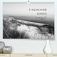 Fischland - Darss - Zingst Fineart Photographie (Premium, hochwertiger DIN A2 Wandkalender 2022, Kunstdruck in Hochglanz): Besondere Momente der Ostsee-Halbinseln in Schwarz-Weiss (Monatskalender, 14 Seiten )
