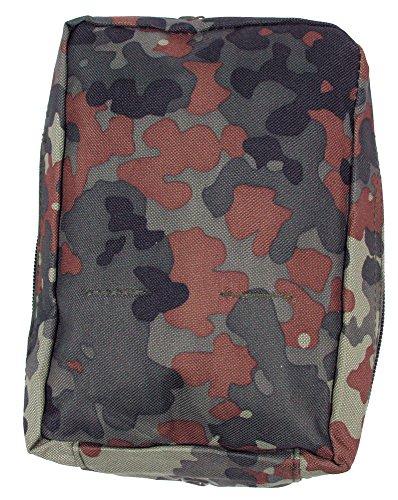 MFH Mehrzwecktasche 'MOLLE', klein 30613 Unisex Tasche flecktarn/BW camo