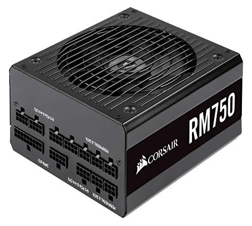 Corsair RM750 PC-Netzteil (Voll-Modulares Kabelmanagement, 80 Plus Gold, 750 Watt, EU) schwarz