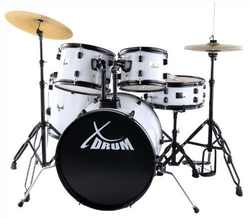 XDrum Rookie 50,8cm studio drum set bianco