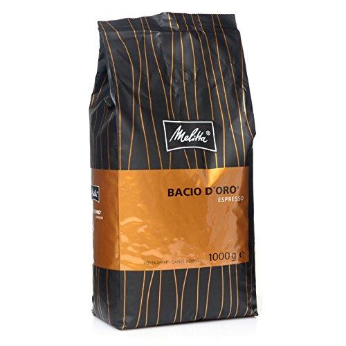 Melitta Bacio D'oro Espresso 8 x 1 Kg Kaffee ganze Bohnen