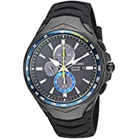 Seiko Coutura Chronograph Black Dial Watch