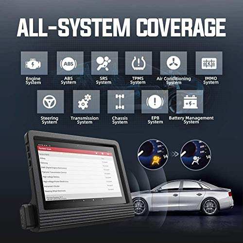 LAUNCH X431 V+ Pro 4.0(Upgrade Version of X431 V PRO) Bi-Directional Scan Tool Full System Scanner,31+ Reset Functions,Key Program,Variant Coding, AutoAuth for FCA SGW, TPMS Tool as Gift, Free Update