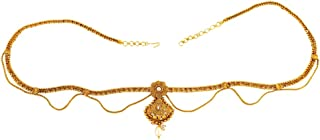ACCESSHER Antique Design Gold Kamarband Waist Belt for Women