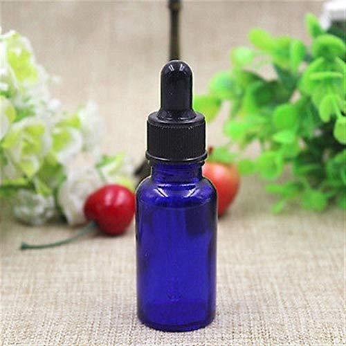 10pcs 5ml / 10ml / 15ml / 20ml / 30ml / 50ml vide Ambre Dropper Bouteilles en verre Huile Essentielle liquide aromathérapie Pipette parfum Comestic Container DUOER