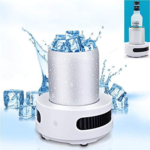 MRMRMNR Klein Ice Maker, Tragbare Eismaschine Mini Eiswürfelmaschine Intelligente Kühlung Schnelle Eisherstellung In 15 Minuten Auto-Eismaschine Für Home Camp Party