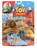 Thinkway Toy Story Quick Draw Woody Action Figure with Quick Draw Action Toys