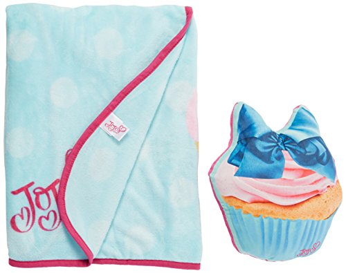 Jojo Siwa coperta e cupcake Pillow set