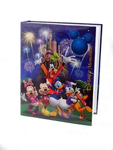 "Disney Exclusive Mickey Mouse & Friends""Disney Memories"" Blue Photo Album"