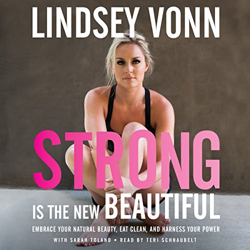 Strong Is the New Beautiful audiobook cover art