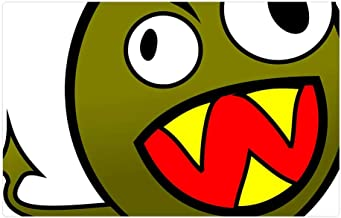 angry monster cartoon