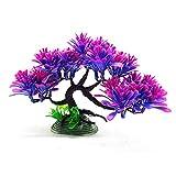 HYHY - Planta artificial acuática, árboles artificiales, decoración para acuario, paisaje, decoración para casa, oficina, hotel