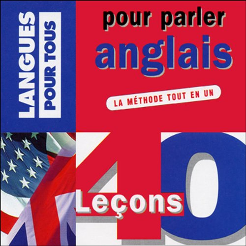 40 leçons pour parler anglais audiobook cover art