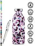 24 Bottles Bottiglia Clima 330 ml | 500 ml | 850 ml colori diversi 12h cold 24h hot, Contenuto:500 ml, Colore:Cheetah