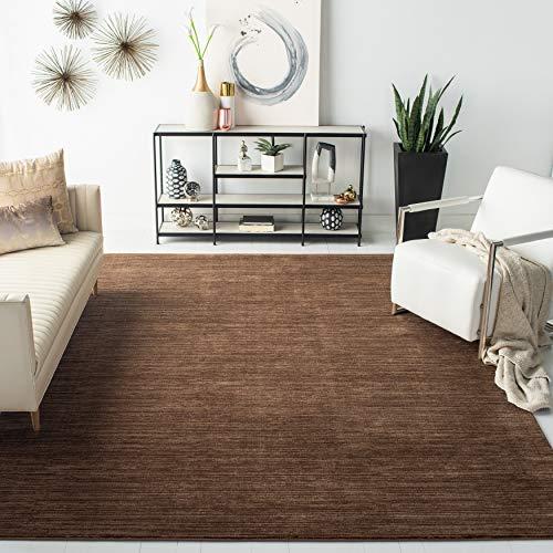 Safavieh Wohnzimmer Teppich, VSN606, Gewebter Polypropylen, Braun, 160 X 230 cm