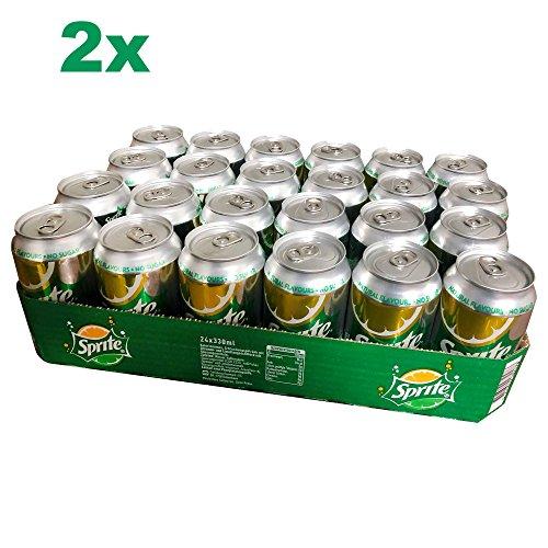Sprite Zitrone/Limone ohne Zucker 2er (48x0,33l Dose) DK (the new Sprite)
