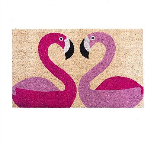 Bombay Duck - Alfombra para puerta (75 x 45 cm), diseño de flamencos