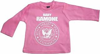 PUNKROCK SINCE 1976 Einzelknoten Babymütze pink