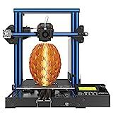 Impresora 3D GEEETECH A10 Prusa I3 Kit de bricolaje de montaje rápido y fácil con área de impresión 220 × 220 × 260 mm. Trabaje en caso de un apagón eléctrico.