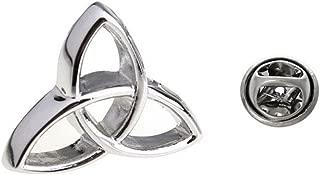 Procuffs Triquetra Symbolism Triangle Holy Trinity Celtic Lapel Pin Tack Tie