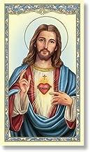 sacred heart of jesus prayer card
