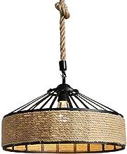 Amazon.es: lámparas rusticas de techo - Bambú / Iluminación ...