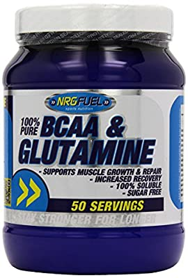 NRG Fuel 500 g Lemonade BCAA/Glutamine Supplement