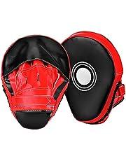 Queta Paos de Boxeo para Kick Boxing Muay Thai MMA-Almohadillas Entrenamiento-Manoplas de Boxeo