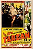 PostersAndCo TM Adventures of Tarzan Poster / Kunstdruck,