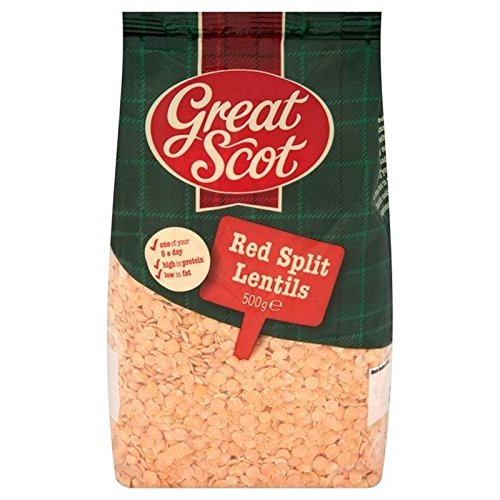 Great Scot Red Split store Lentils 6 500g Pack - of Ranking TOP2