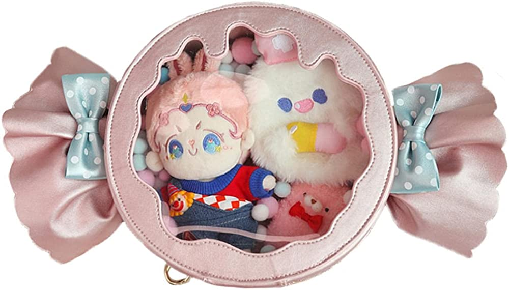 Ita Bag Albuquerque Free Shipping New Mall Fashion candy Shoulder Crossbody japanese Clear