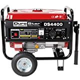 DuroStar DS4400, 3500 Running Watts/4400 Starting Watts, Gas Powered Portable Generator