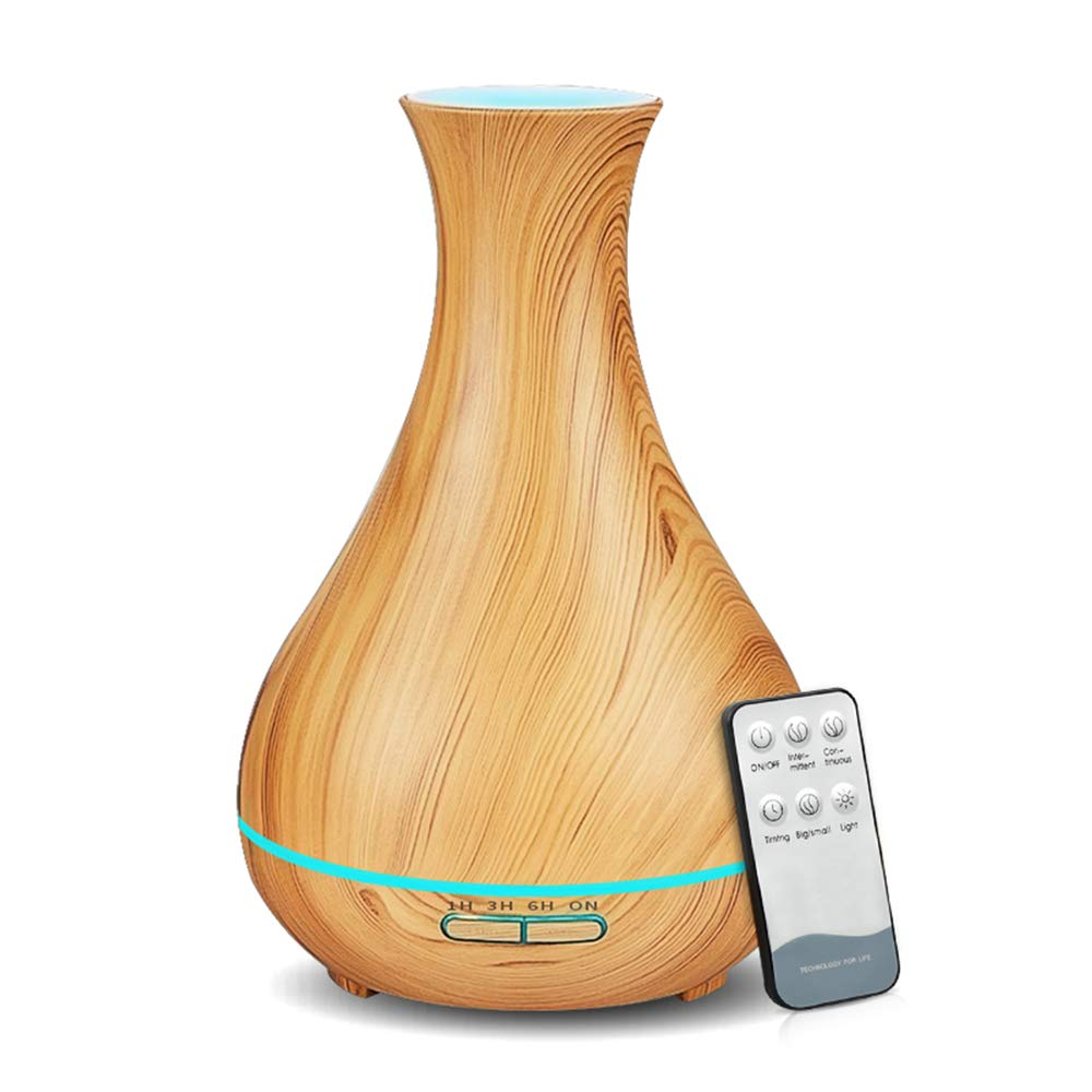 KBAYBO Essential Ultrasonic Humidifier Light Remote