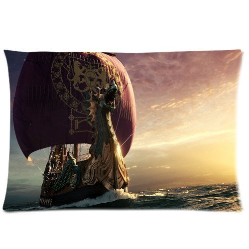 New Pillow Cover Narnia Dawn Treader Ship Pillow Cover Design Zippered Pillowcase Personalized Throw Pillowcases Decorative Sofa Or Bed Pillow Case Cover Kissenbezüge (50cmx65cm)