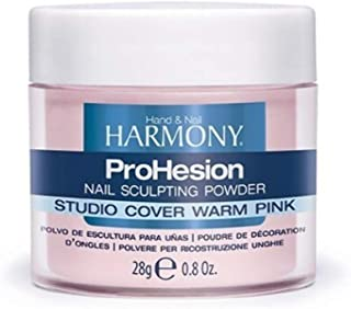 Gelish Studio Cover Warm Pink Prohesion Sculpting Powder, 0.8 Fluid Ounce