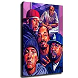 Eminem Dr. Dre Ice Cube Snoop Dogg Poster auf Leinwand Art