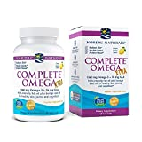 Nordic Naturals Complete Omega Xtra, Lemon - 60 Soft Gels - 1360 mg Omega-3 + 76 mg GLA - Healthy Skin, Joints & Cognition - Non-GMO - 30 Servings