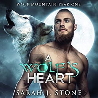 A Wolf's Heart audiobook cover art