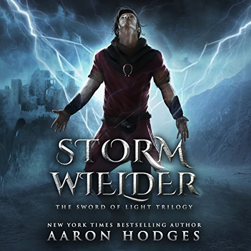 Stormwielder audiobook cover art