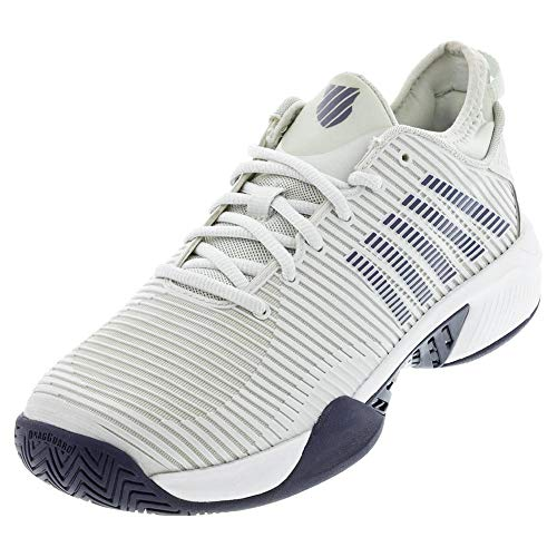 K-Swiss Men's Hypercourt Supreme Tennis Shoe (Barely Blue, 13)