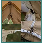 Bell Tent 4 metre with zipped in groundsheet by Bell Tent Boutique 3