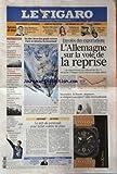 FIGARO (LE) [No 20535] du 10/08/2010 - ENVOLEE DES EXPORTATIONS / L'ALLEMAGNE SUR LA VOIE DE LA REPRISE -UN BLOC DEUX FOIS GRAND COMME PARIS SE DETACHE DU GROENLAND -INCENDIES / L RUSSIE DEPASSEE SE RESIGNE A ACCEPTER L'AIDE INTERNATIONALE -LE DEFI DU PENTOZALI POUR LUTTER CONTRE LA CRISE PAR KEFALAS -NATATION / YANNICK AGNEL CHAMPION D'EUROPE A 18 ANS -TOLERANCE ZERO POUR LES HOOLIGANS DU FOOT -LA MONGOLIE AU COEUR D'UN TRAFIC DE NORD-COREENS -UN CAMP D'ETE ANGLAIS CONTRE LE TERRORISME ISLAMIQ